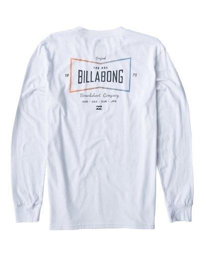 1 Original Long Seeve T-Shirt White M405UORE Billabong