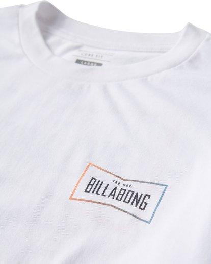 2 Original Long Seeve T-Shirt White M405UORE Billabong