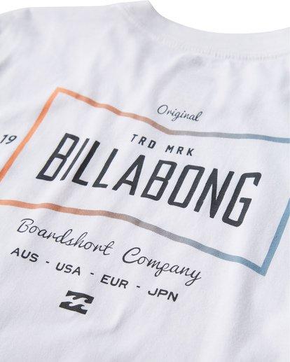 3 Original Long Seeve T-Shirt White M405UORE Billabong