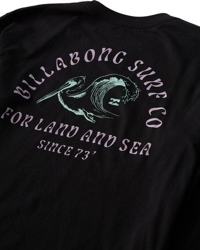3 Peliwave Long Seeve T-Shirt Black M405UPEE Billabong