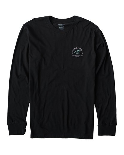 0 Peliwave Long Seeve T-Shirt Black M405UPEE Billabong