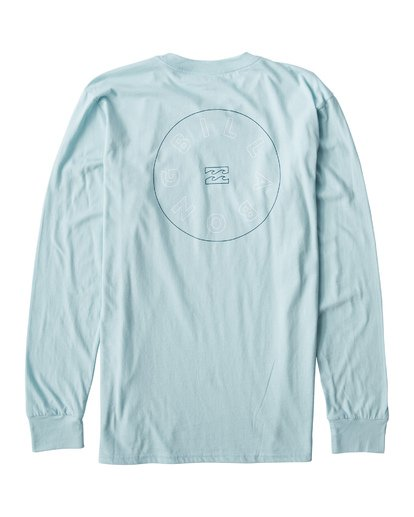 1 Roto Long Seeve T-Shirt Blue M405UROE Billabong