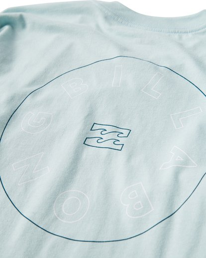 3 Roto Long Seeve T-Shirt Blue M405UROE Billabong