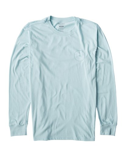 0 Roto Long Seeve T-Shirt Blue M405UROE Billabong