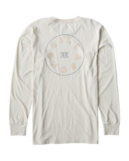 1 Roto Long Seeve T-Shirt White M405UROE Billabong