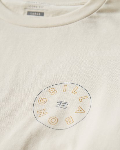 2 Roto Long Seeve T-Shirt White M405UROE Billabong