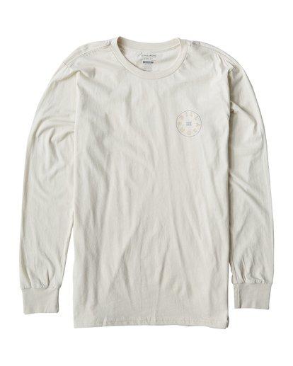 0 Roto Long Seeve T-Shirt White M405UROE Billabong