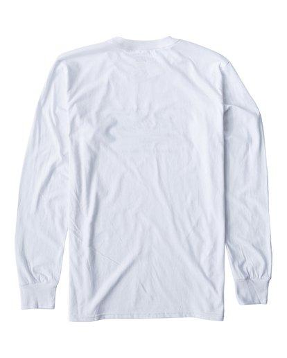 1 Script Long Seeve T-Shirt White M405USCE Billabong