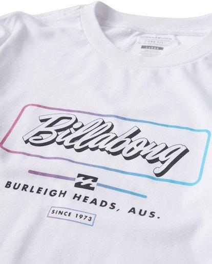 2 Script Long Seeve T-Shirt White M405USCE Billabong