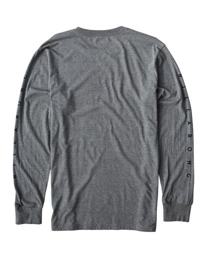 1 Swelled Long Seeve T-Shirt Grey M405USWE Billabong