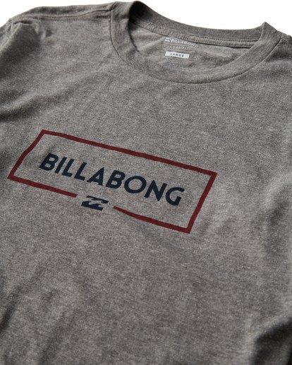 2 Swelled Long Seeve T-Shirt Grey M405USWE Billabong
