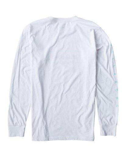 1 Swelled Long Seeve T-Shirt White M405USWE Billabong