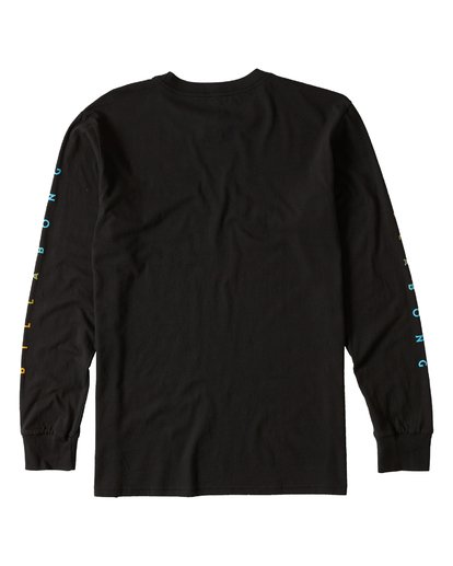 1 Unity Sleeves Long Sleeve Tee Black M405UUNR Billabong