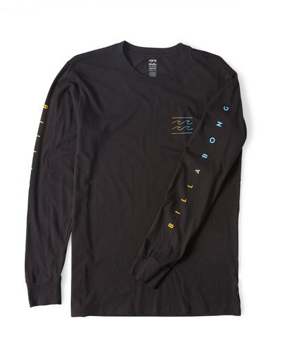 2 Unity Sleeves Long Sleeve T-Shirt  M405UUNR Billabong