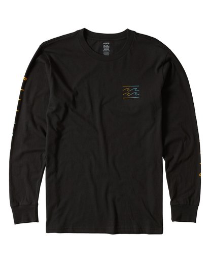 0 Unity Sleeves Long Sleeve T-Shirt  M405UUNR Billabong