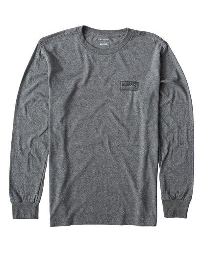 0 Windy Long Seeve T-Shirt Grey M405UWIE Billabong