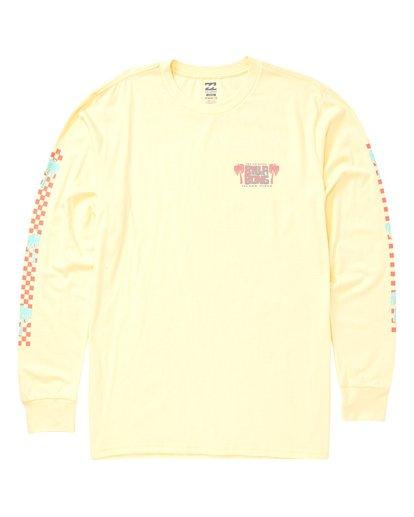 0 Calypso Long Sleeve T-Shirt Yellow M405VBCA Billabong