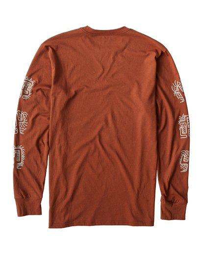 2 Cactus Long Sleeve T-Shirt Green M405VBCT Billabong