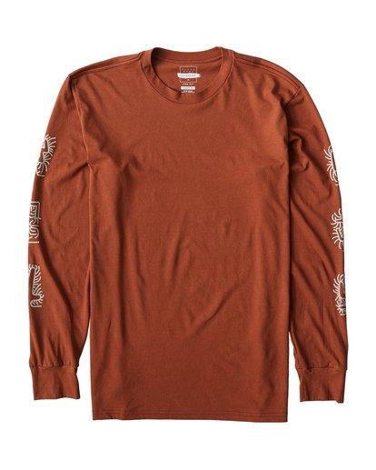 0 Cactus Long Sleeve T-Shirt Green M405VBCT Billabong