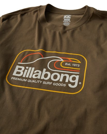 2 Dive Long Sleeve T-Shirt Green M405VBDI Billabong