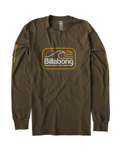 0 Dive Long Sleeve T-Shirt Green M405VBDI Billabong
