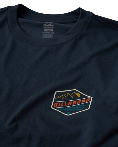 2 Ridge Long Sleeve T-Shirt Blue M405VBRI Billabong