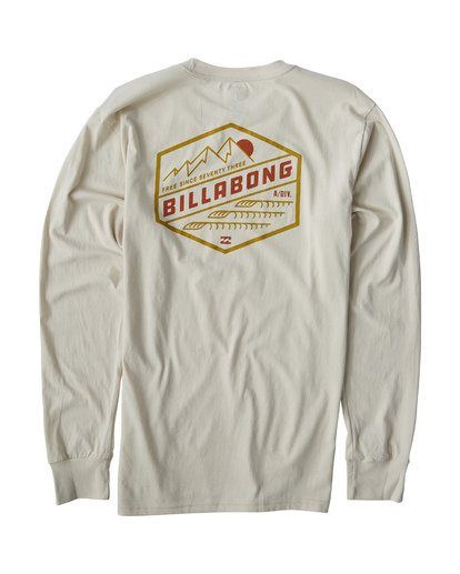 1 Ridge Long Sleeve White M405VBRI Billabong