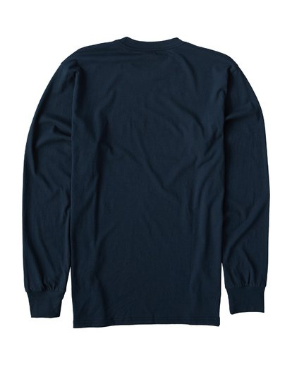 1 Union Long Sleeve T-Shirt Blue M405VBUI Billabong
