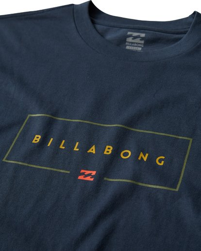 2 Union Long Sleeve T-Shirt Blue M405VBUI Billabong