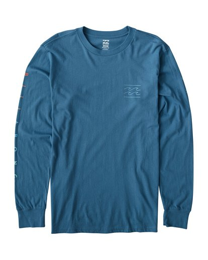 0 Unity Long Sleeve T-Shirt Blue M405VBUN Billabong