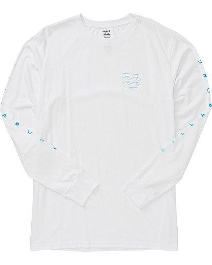 1 Unity Long Sleeve T-Shirt White M405VBUN Billabong