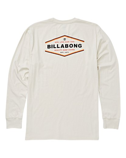 1 Vista Long Sleeve T-Shirt White M405VBVI Billabong