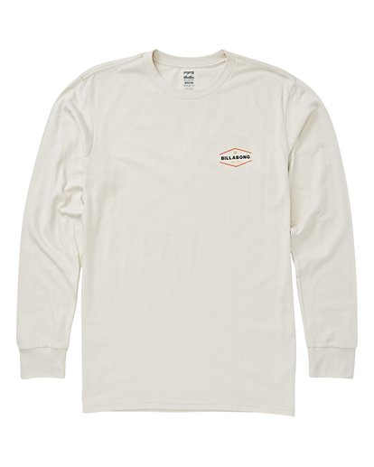 0 Vista Long Sleeve T-Shirt White M405VBVI Billabong