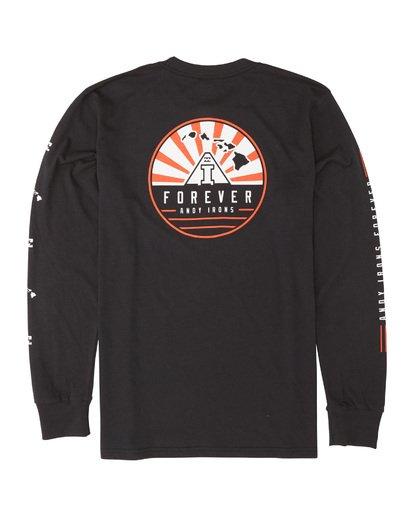 4 AI Forever Long Sleeve T-Shirt Black M405WBAI Billabong
