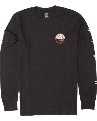 3 AI Forever Long Sleeve T-Shirt Black M405WBAI Billabong