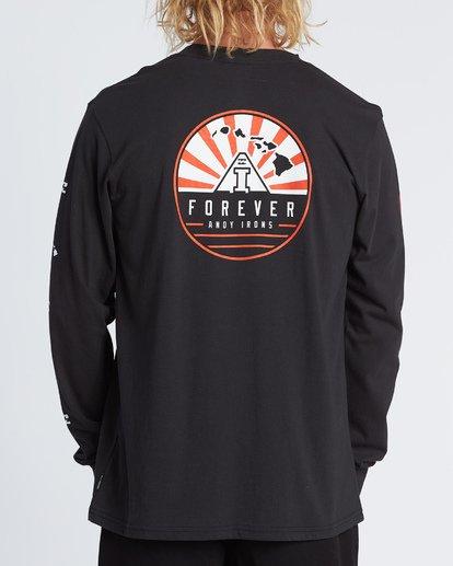 2 AI Forever Long Sleeve T-Shirt Black M405WBAI Billabong