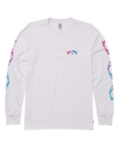 3 Arch Link Long Sleeve T-Shirt White M405WBAL Billabong