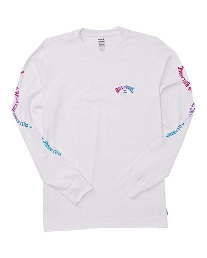 4 Arch Link Long Sleeve T-Shirt White M405WBAL Billabong