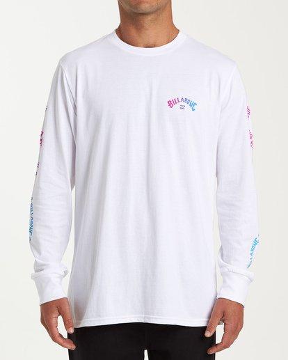 0 Arch Link Long Sleeve T-Shirt White M405WBAL Billabong