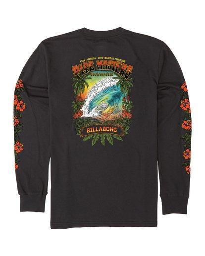 4 Pipe Masters Tube Long Sleeve T-Shirt Black M405WBPT Billabong