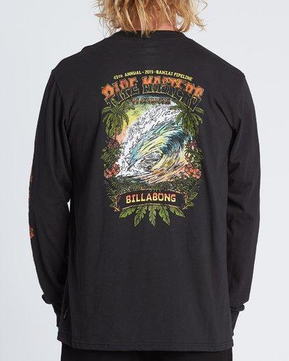 2 Pipe Masters Tube Long Sleeve T-Shirt Black M405WBPT Billabong