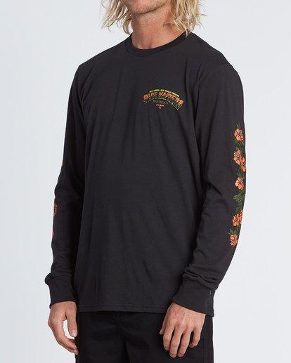 1 Pipe Masters Tube Long Sleeve T-Shirt Black M405WBPT Billabong