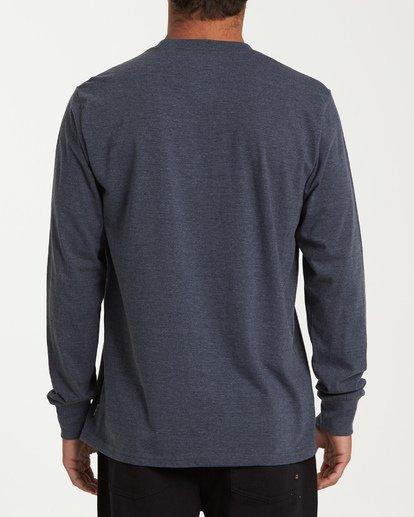 2 Ripple Long Sleeve T-Shirt Blue M405WBRI Billabong