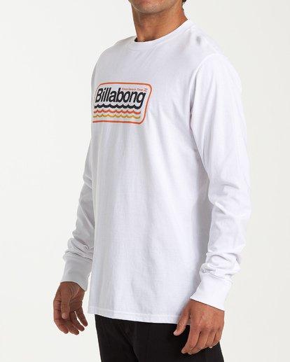 1 Ripple Long Sleeve T-Shirt White M405WBRI Billabong