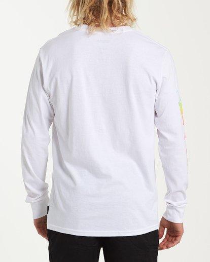 1 Power Down Long Sleeve T-Shirt White M405WBSU Billabong