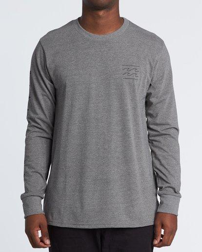 0 Unity Long Sleeve T-Shirt Green M405WBUN Billabong