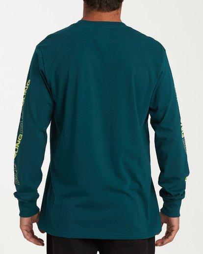 2 Vortex Long Sleeve T-Shirt Green M405WBVO Billabong