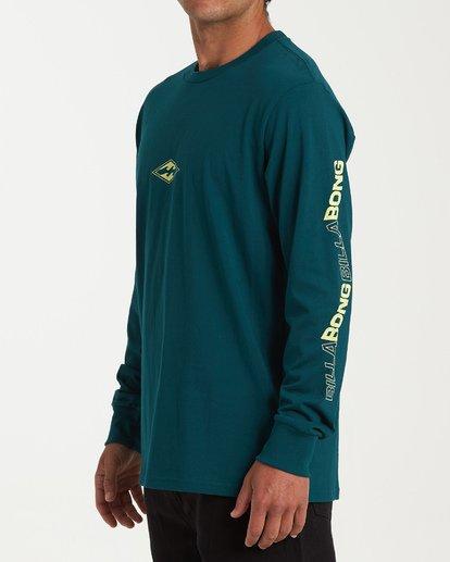 1 Vortex Long Sleeve T-Shirt Green M405WBVO Billabong