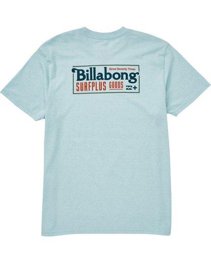 1 Bullard T-Shirt Blue M406QBBU Billabong