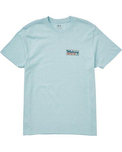0 Bullard T-Shirt Blue M406QBBU Billabong